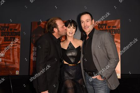 Damien Lay, Victoria Summer and Chris Klein
