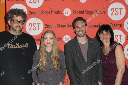 Neil LaBute, Amanda Seyfried, Thomas Sadoski, Leigh Silverman