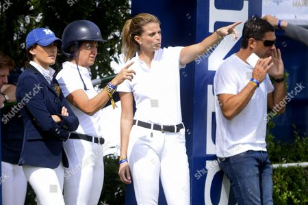 Editorial photo of Longines Global Champions Tour at Madrid Clud de Campo, Madrid, Spain - 01 May 2015