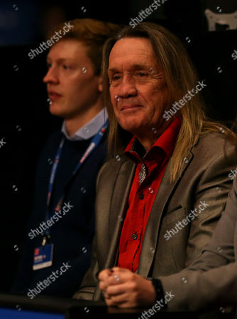 Iron Maiden drummer Nicko McBrain before the start of the Final