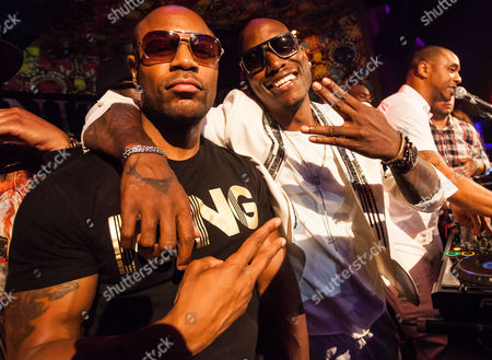 Durrell Babbs and Tyrese Gibson