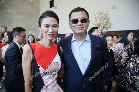 Wendi Deng Murdoch and Kar Wai Wong
