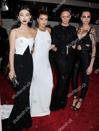 Zhu Zhu, Sofia Richie, Stella McCartney and Cara Delevingne