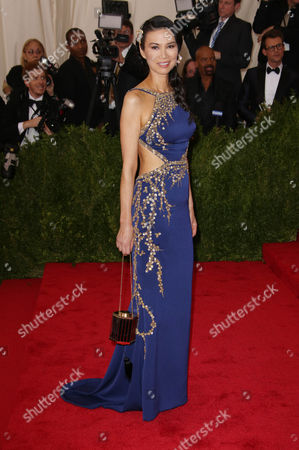 Editorial photo of Costume Institute Gala Benefit celebrating China: Through the Looking Glass, Metropolitan Museum of Art, New York, America - 04 May 2015