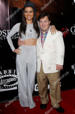 Danica McKellar and David DeSanctis