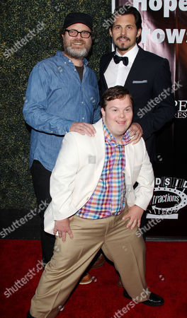 Guest, David DeSanctis and Kristoffer Polaha