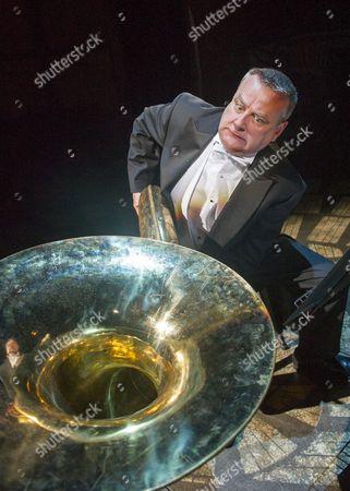Stock Picture of Contraphonium Chris Larner