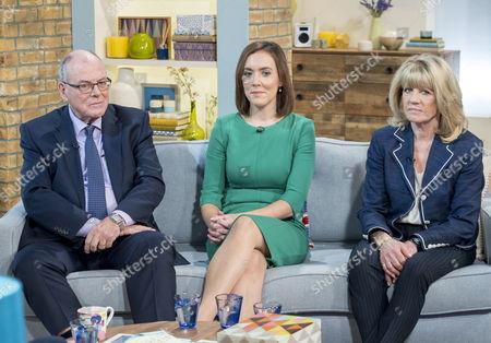 Arthur Edwards, Camilla Tominey and Ingrid Seward