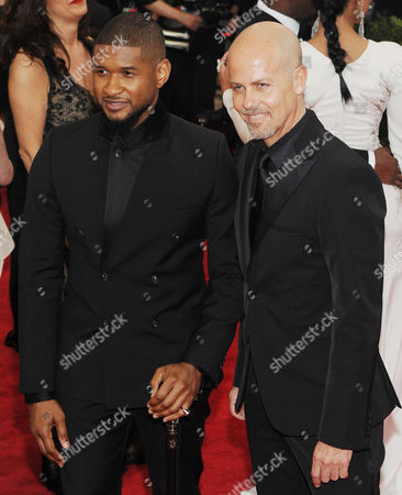 Usher and Italo Zucchelli
