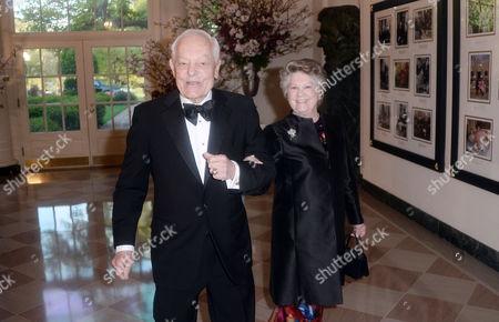 CBS News anchor Bob Schieffer, left, and Patricia Schieffer