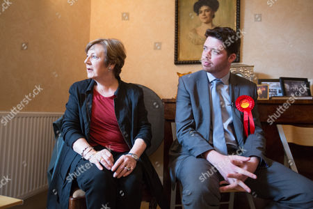 Stock Image of Celebrity TV chef Delia Smith supports the Labour parliamentary candidate for Thanet South Will Scobie during a visit to Sandwich today speaking to members of the community who are yet to decide how they will be voting.