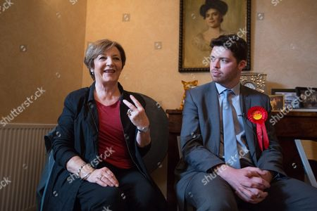 Editorial picture of Labour party general election campaigning, Sandwich, Britain - 05 May 2015