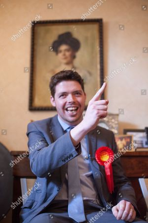 Stock Photo of Labour parliamentary candidate for Thanet South Will Scobie