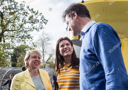 Editorial photo of Liberal Democrat general election campaigning, Solihull, Britain - 05 May 2015