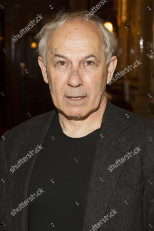 Nicholas Woodeson (Harold Wilson) attends the after party on Press Night for The Audience at One Whitehall Place, London