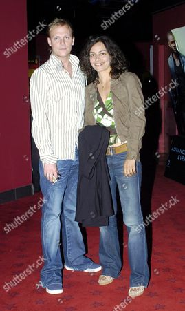 Antony Cotton and Sasha Behar