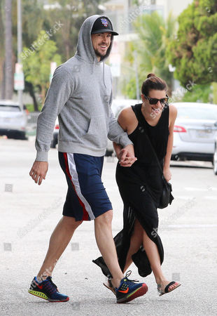 Editorial picture of Lea Michele and boyfriend Matthew Paetz out and about, Los Angeles, America - 05 May 2015