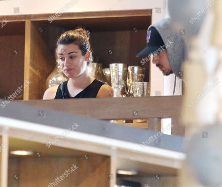 Editorial image of Lea Michele and boyfriend Matthew Paetz out and about, Los Angeles, America - 05 May 2015