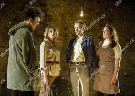 Harry Melling as Jim, Lizzy Watts as Hilary, Mark Arends as John, Pearl Chanda as Anna