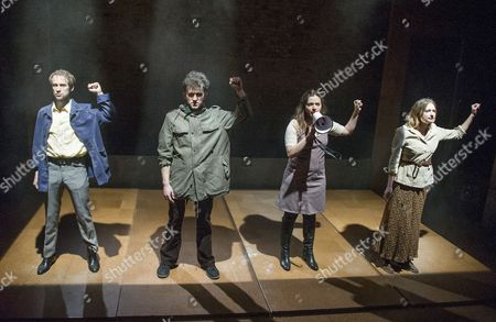 Mark Arends as John, Harry Melling as Jim, Pearl Chanda as Anna, Lizzy Watts as Hilary,