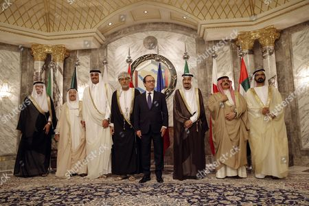 Editorial picture of Francois Hollande visit to Riyadh, Saudi Arabia - 05 May 2015