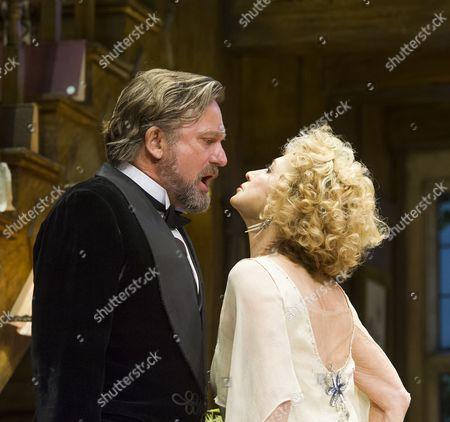 Simon Shepherd as David,  Felicity Kendal as Judith,