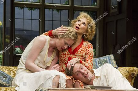 Alice Orr-Ewing as Sorel, Felicity Kendal as Judith, Edward Franklin as Simon