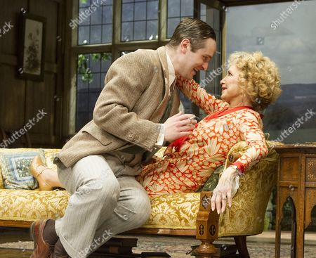 Editorial image of 'Hay Fever' Play performed at the Duke of Yorks Theatre, London, UK, 6 May 2015