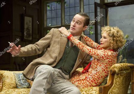 Stock Photo of Edward Killingback as Sandy, Felicity Kendal as Judith,