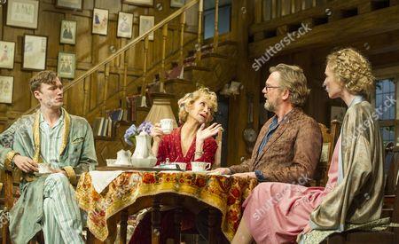 Edward Franklin as Simon, Felicity Kendal as Judith, Simon Shepherd as David, Alice Orr-Ewing as Sorel