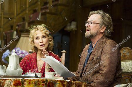 Felicity Kendal as Judith, Simon Shepherd as David,