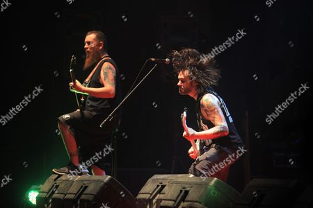 Stock Picture of Killswitch Engage - Mike D'Antonio and Joel Stroetzel