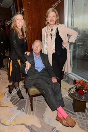 Stock Picture of Sophie Conran, Sir Terence Conran and Lady Vicki Conran