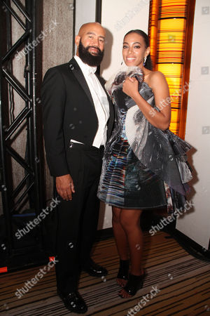 Alan Ferguson and Solange Knowles