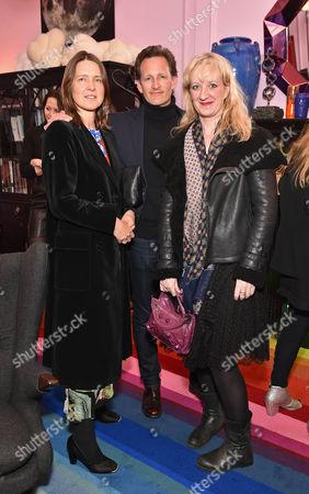 Vanessa Fairer, Robert Fairer and Camilla Morton
