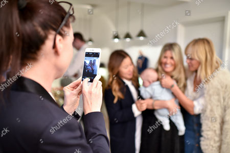 Editorial photo of Bonpoint hosts a Sip'n'See event for Pippa Holt at Bonpoint Marylebone Store, London, Britain - 06 May 2015