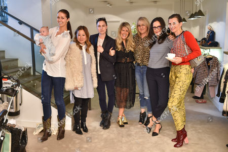 Nina Godfrey, Carolyn Asome, Emma Hawkins, Pippa Holt, Charlotte Pilcher, Suzy Murphy and Sophie Baums