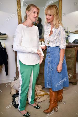 Rachael Reavley and Deborah Brett