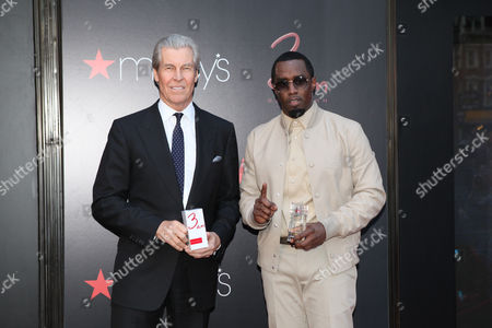 Terry J. Lundgren and Sean Combs