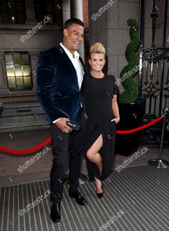 Kerry Katona and husband George Kay