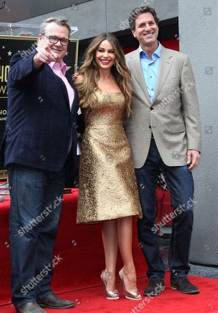 Editorial image of Sofia Vergara honoured with a star on the Hollywood Walk of Fame, Los Angeles, America - 07 May 2015