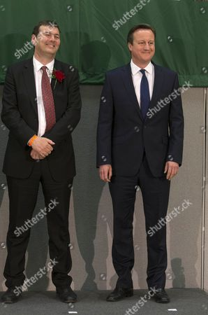Stock Picture of Duncan Enright (Labour) and David Cameron
