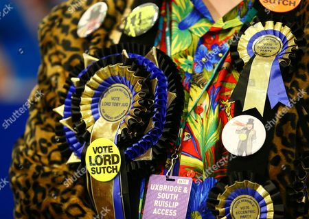 Editorial image of General Election polling day, London, Britain - 07 May 2015