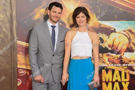 Josh Helman and Jennifer Allcott