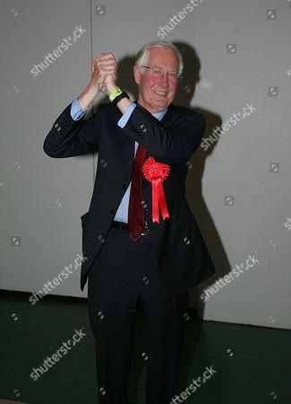 Michael Meacher celebrates his re-election