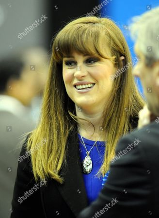 Conservative candidate for Rochester and Strood, Kelly Tolhurst at the count
