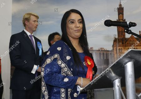 Labour candidate Naz Shah makes her victory speech