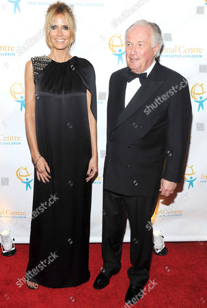Heidi Klum and Dr. Franz Humer