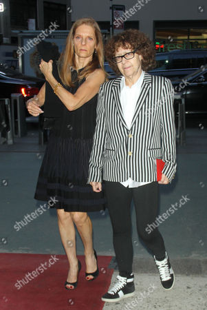 Stock Picture of Sandra Brant and Ingrid Sischy