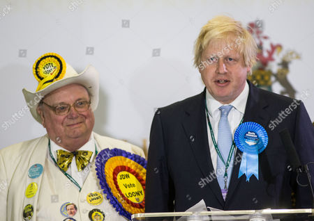 Howling Laud Hope and Boris Johnson